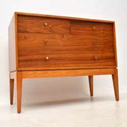 1950's Rosewood & Mahogany Vintage Chest of Drawers