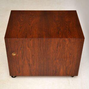 danish rosewood chest of drawers bodil kjaer