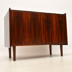 1960's Danish Rosewood Sideboard Cabinet