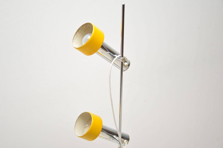 retro italian chrome lamp