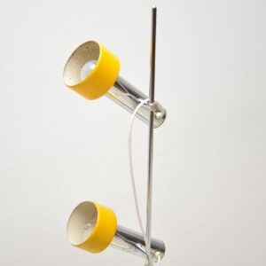 retro italian chrome lamp