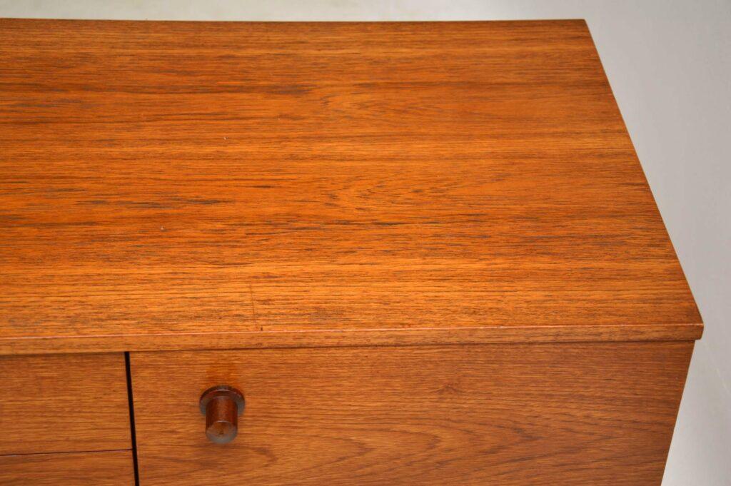vintage danish teak sideboard