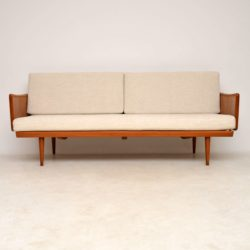 danish teak vintage sofa by peter hvidt