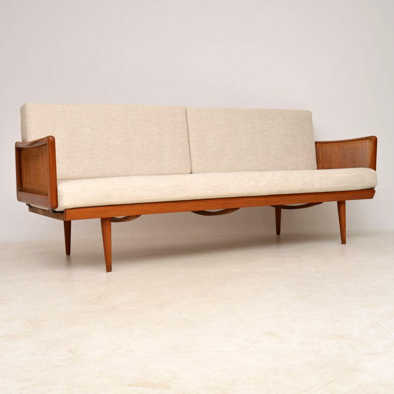 danish teak vintage sofa by peter hvidt