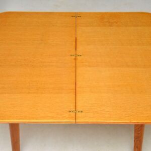 vintage oak dining table console table