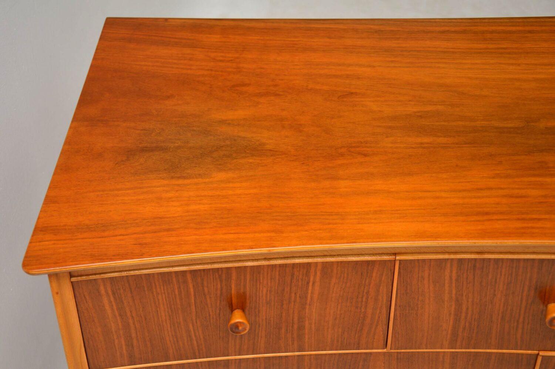 vintage walnut sideboard