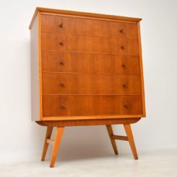 1950's Vintage Walnut Chest of Drawers