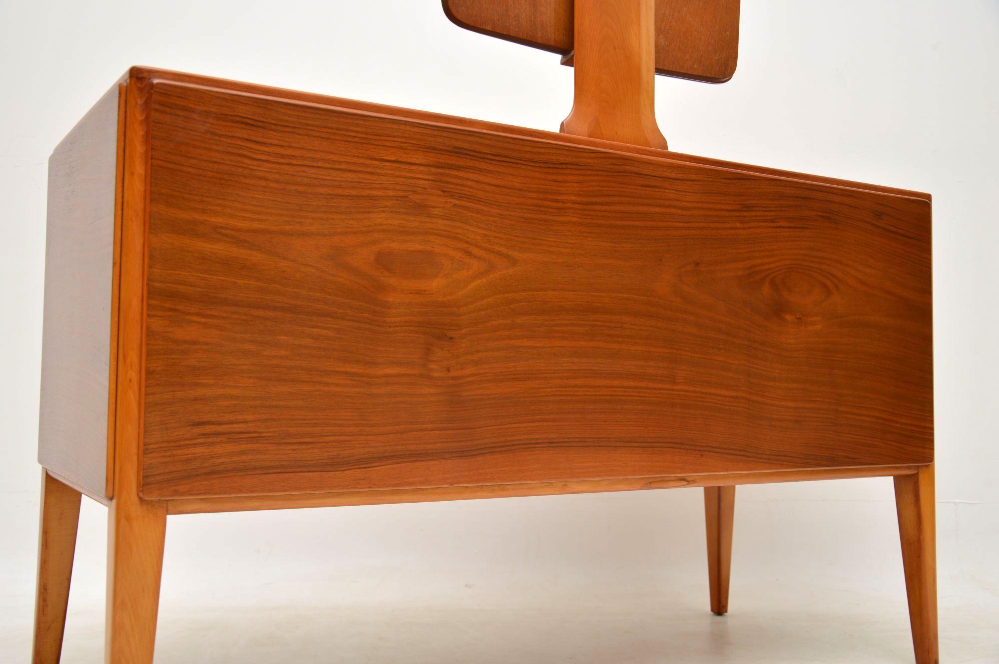 1950 S Vintage Walnut Dressing Table Retrospective