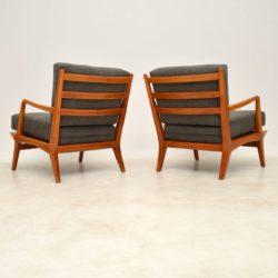 pair of italian vintage armchairs by carlo de carli