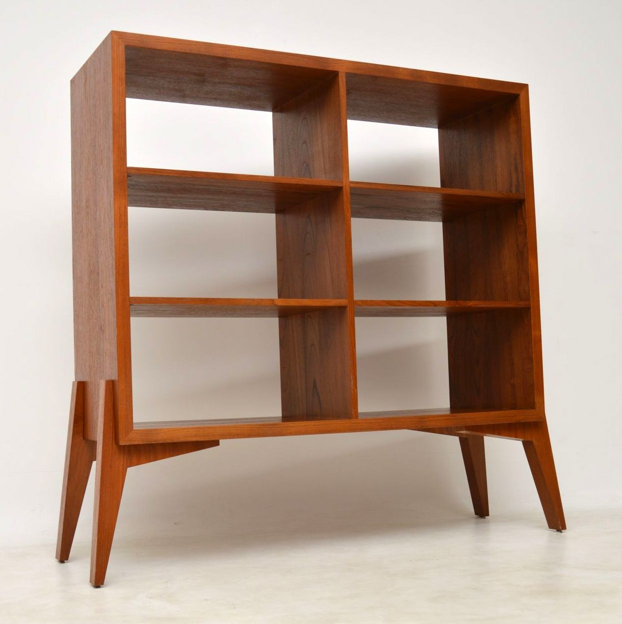 teak home solid p bookcase cabinets furniture