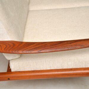 vintage danish teak sofa by grete jalk