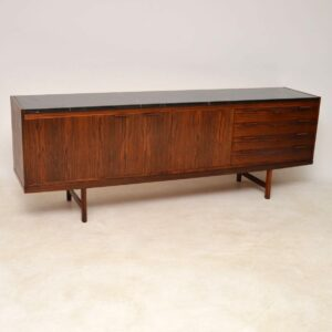 rosewood and marble sideboard by robert heritage for archie shine