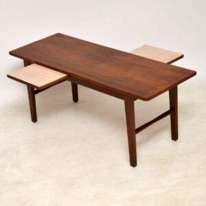 danish teak vintage coffee table