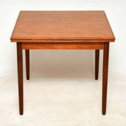 1960's Vintage Danish Teak Dining Table