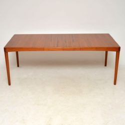 danish teak vintage dining table by bramin
