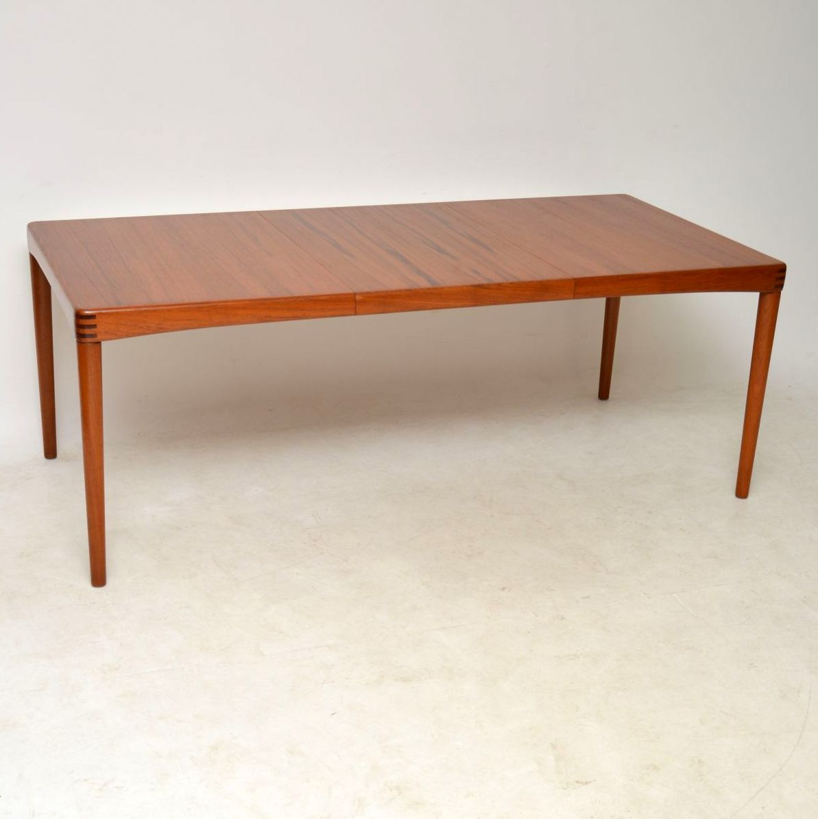 1960s Danish Teak & Rosewood Dining Table by H.W Klein for Bramin ...