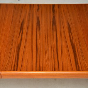 danish teak vintage dining table by bramin