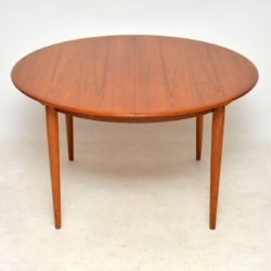 1960's Danish Teak Extending Dining Table
