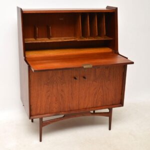 1950's Teak Writing Bureau by Dalescraft