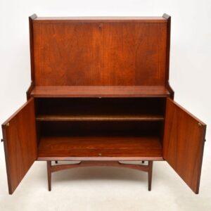 vintage teak bureau dalescraft