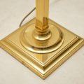 vintage brass floor lamp