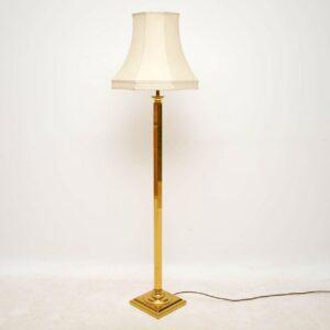 1970's Brass Vintage Floor Lamp