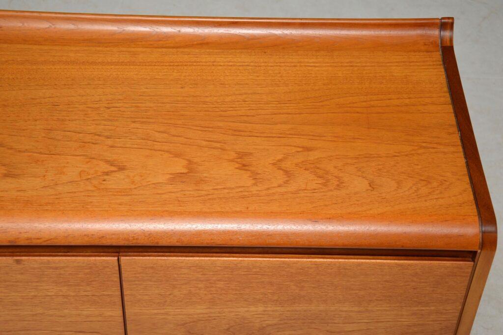 teak vintage sideboard white and newton