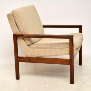 danish rosewood vintage armchair