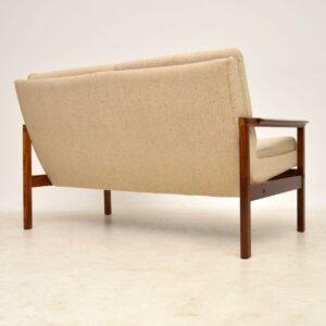 vintage danish rosewood sofa