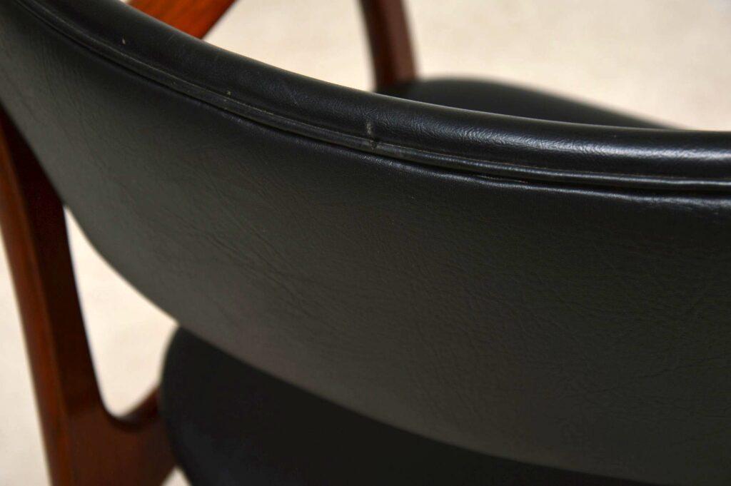 pair of danish rosewood armchairs erik buch