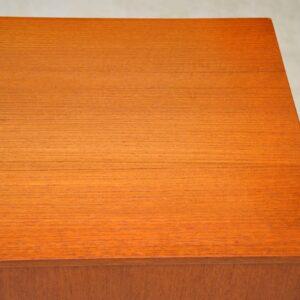vintage record cabinet in teak