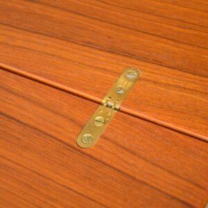 teak vintage nesting danish coffee table side tables