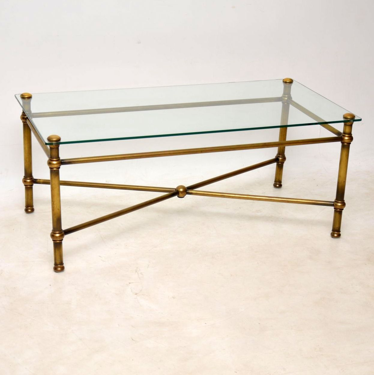 Picture of: 1950 S Vintage Brass Coffee Table Retrospective Interiors Retro Furniture Vintage Mid Century Furniture Vintage Danish Modern Furniture Antique Furniture London