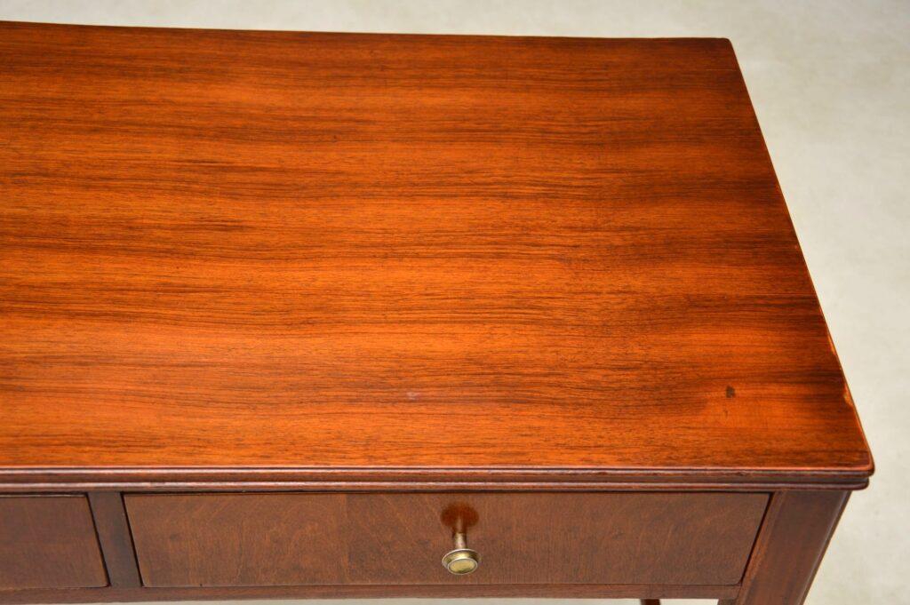 vintage walnut desk writing table