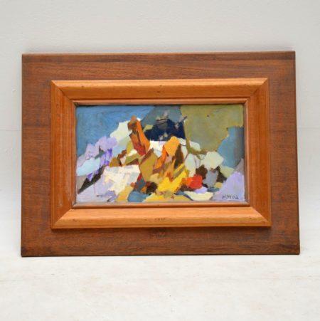 'Alpine Dream' - Original Oil Painting by Hugh Micklem