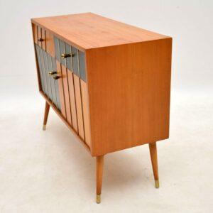 1950's Vintage Satin Wood Cabinet / Sideboard