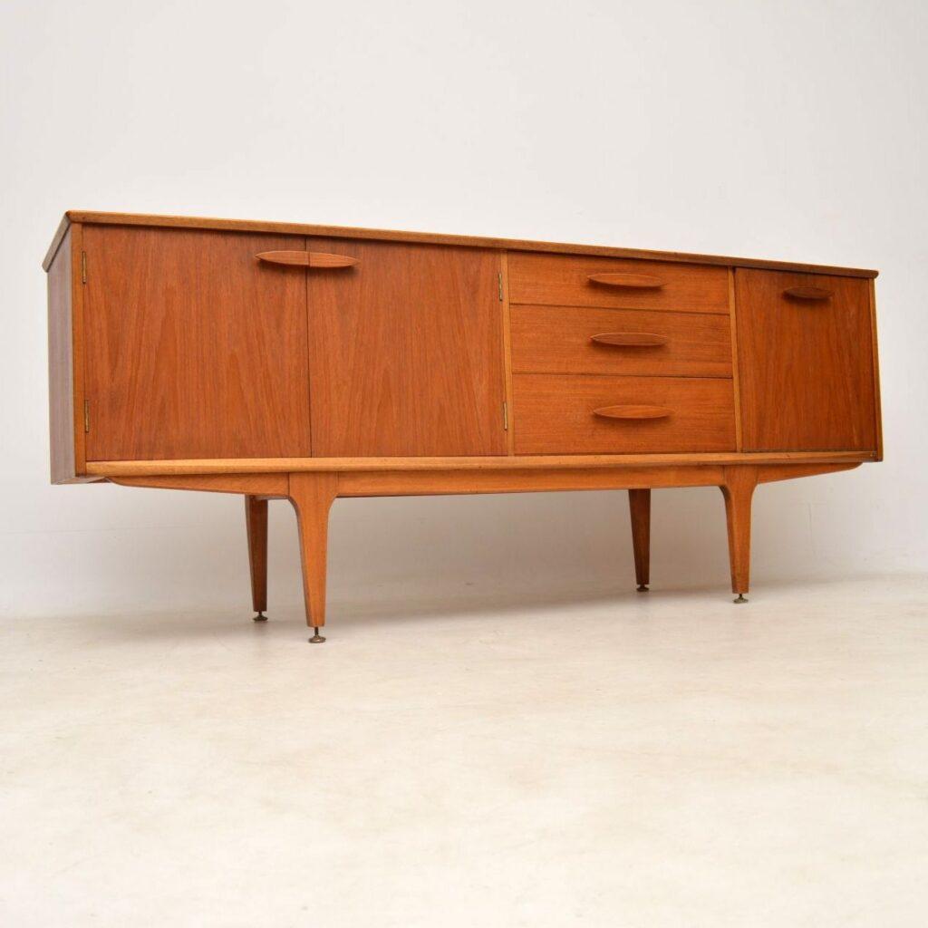 vintage retro teak sideboard