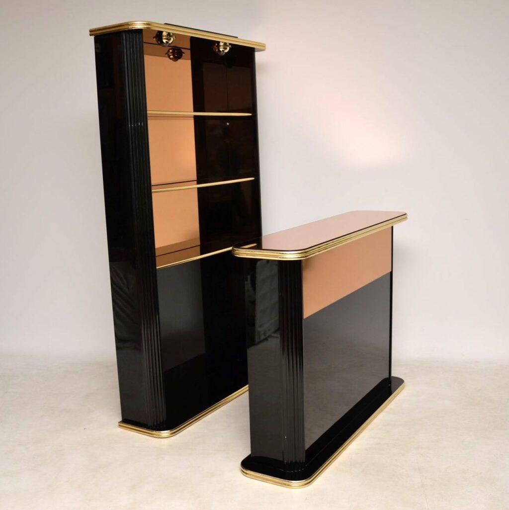 vintage drinks cabinet and bar