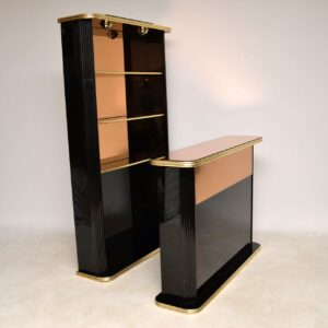 vintage drinks cabinet and bar