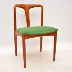 danish teak dining chairs by johannes andersen