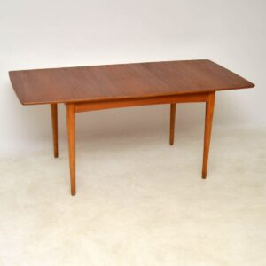 danish teak vintage dining table