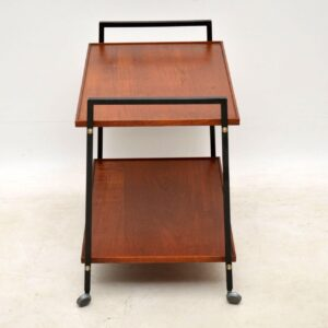 1960's Vintage Teak & Metal Drinks Trolley