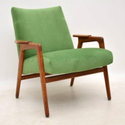 1960's Vintage Swedish Teak Armchair by Yngve Ekstrom