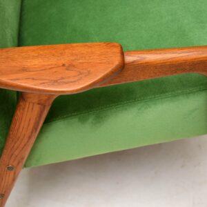 1960's Vintage Swedish Teak Armchair by Yngve Ekstrom