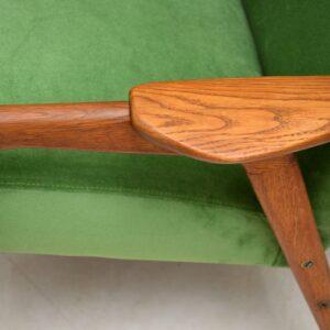 swedish vintage teak armchair yngve ekstrom