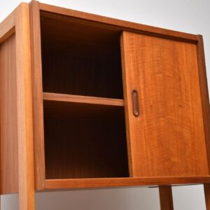 1960's Teak Vintage Wall Unit / Bookcase / Room Divider