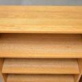 Pair of Danish Oak Open Bookcases