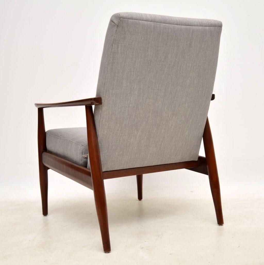 danish vintage armchair