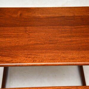 danish rosewood vintage nest of tables