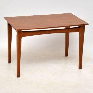 1960's Vintage Walnut Nest of Three Tables